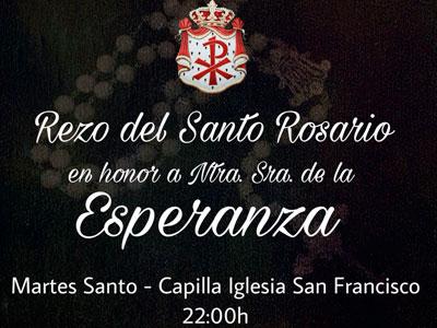 rosario martes santo esperanza