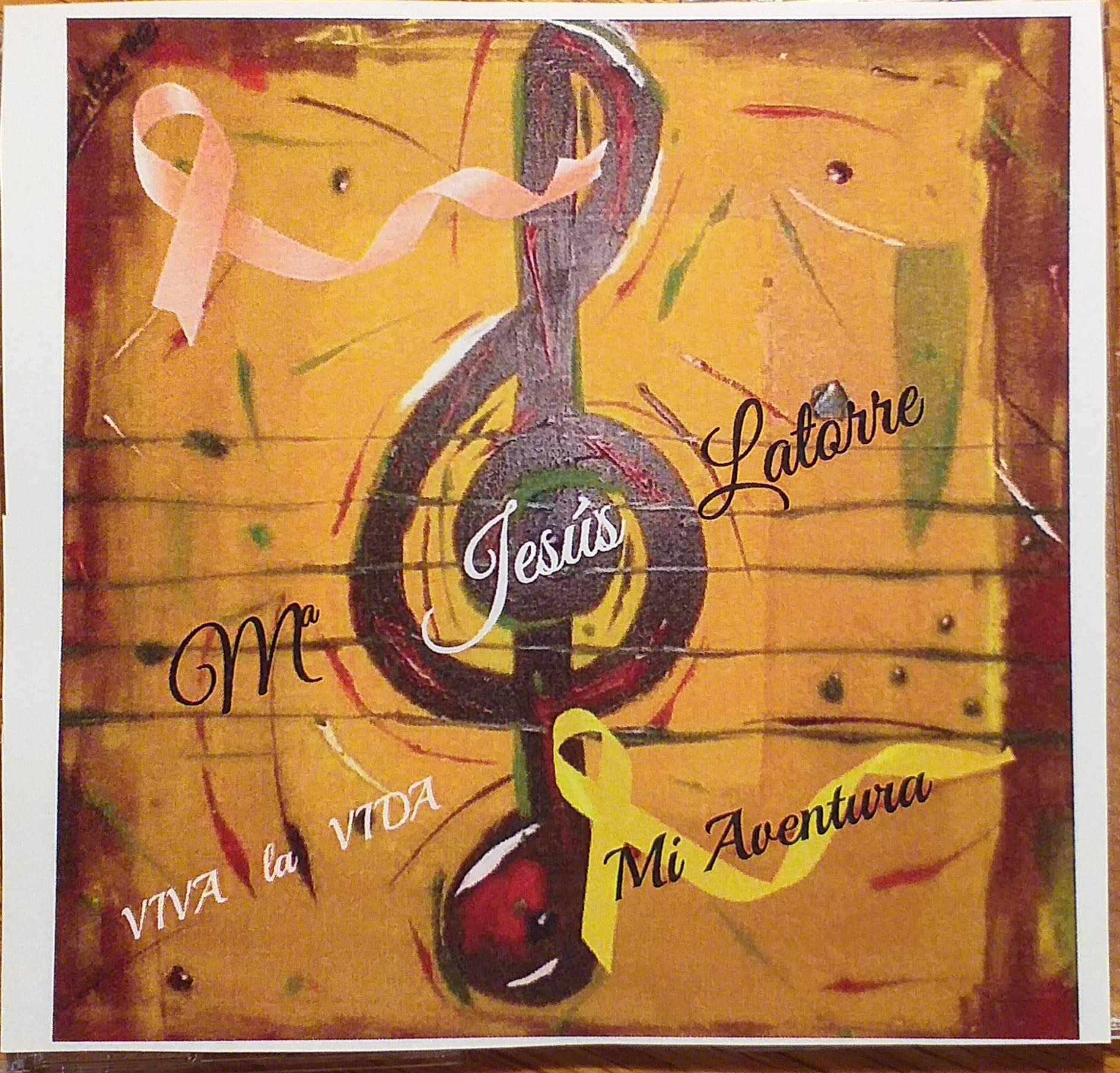 "Ya disponible el doble CD ""Mi Aventura"", de Mª Jesús Latorre."