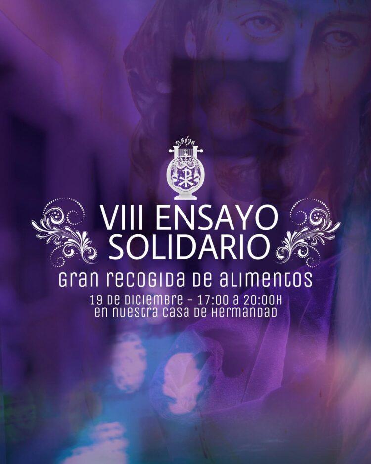 viii Ensayo solidario Banda de cabecera