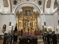 Imágenes del Via Crucis del Viernes Santo 2021